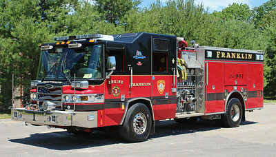 Engine 3 .  2007 Pierce Quantum .  1250 / 750