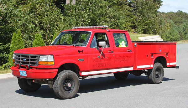 Retired. Squad 1.  1993 Ford F-350
