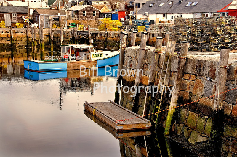 A Working Harbor, Rockport, MA