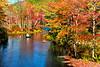 Floating Through Fall Foliage