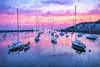 Pink and Purple Sunrise