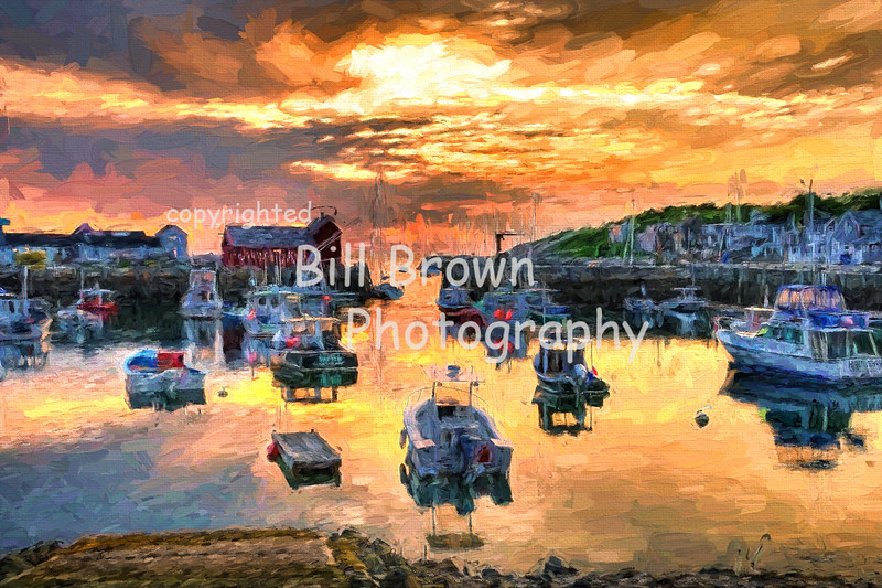 Rockport Harbor Sunrise