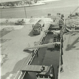 1962 MMA alongside the dock
