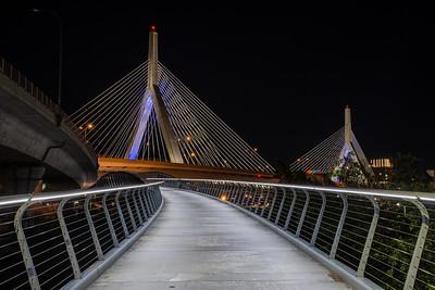 Zakim Bridge and walkway