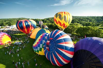 Quechee VT Balloon Festival 2010