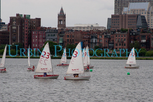 Sailboats on the Charles