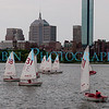 Sailboats on the Charles River