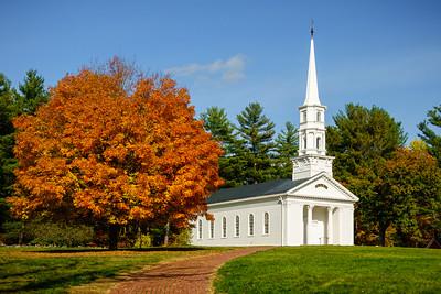 Martha Mary Chapel in the Fall