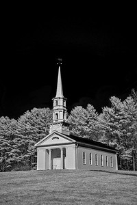 Martha Mary Chapel in Infrared