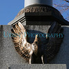 An eagle on one of Westborough's War Memorials.