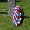 The official wreath from the Westborough Memorial Day Parade.