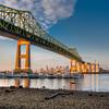 Tobin Bridge, Boston, Massachusetts, USA