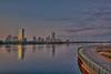 Memorial Drive / Charles River, Boston and Cambridge Border, Massachusetts, USA