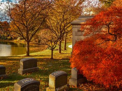 Mt. Auburn Cemetery - Cambridge, Massachusetts