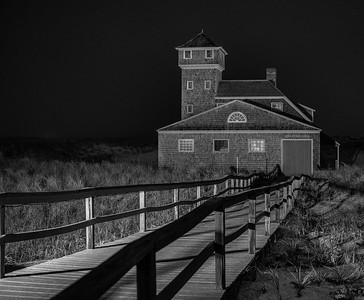 The Old Life Saving Station (at midnight)