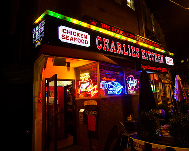 Charlie's Kitchen, Cambridge, Massachusetts, USA