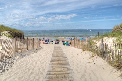 Sea Street Beach, East Dennis, Cape Cod, Massachusetts, USA