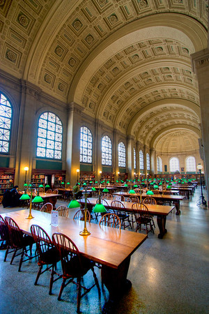 Boston Public Library, Boston, Massachusetts, USA