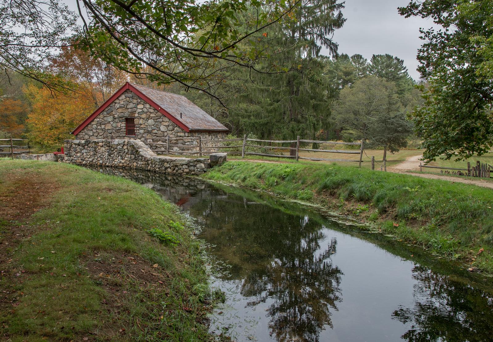 Wayside Inn Grist Mill Upper Stream