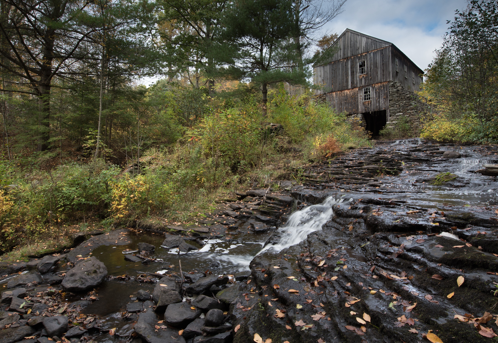 The Old Mill in Moore State Park