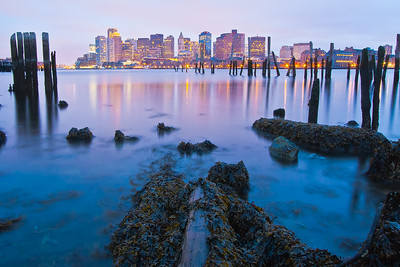 Boston Harbor, East Boston, Massachusetts, USA