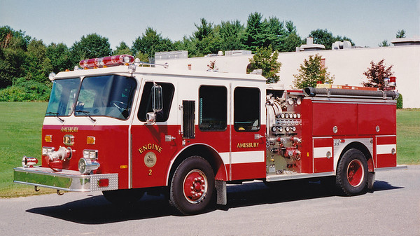 Retired Engine 2.  1988 E-One Cyclone   1500 / 500