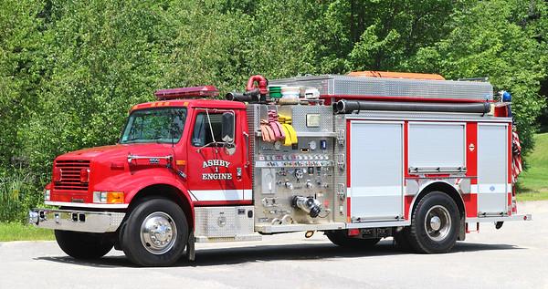 Engine 1   2000 International / Central States / Fireline   1500 / 1000
