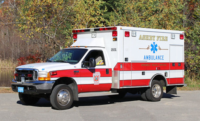 Ambulance 1   1999 Ford F-450 / Road Rescue