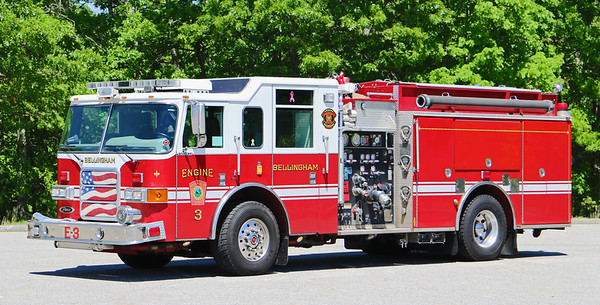 Engine 3.  2007 Pierce Enforcer.  1500 / 750 / 30F