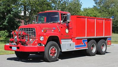 Tanker 1 1984 Ford / Farrar 1000/3000