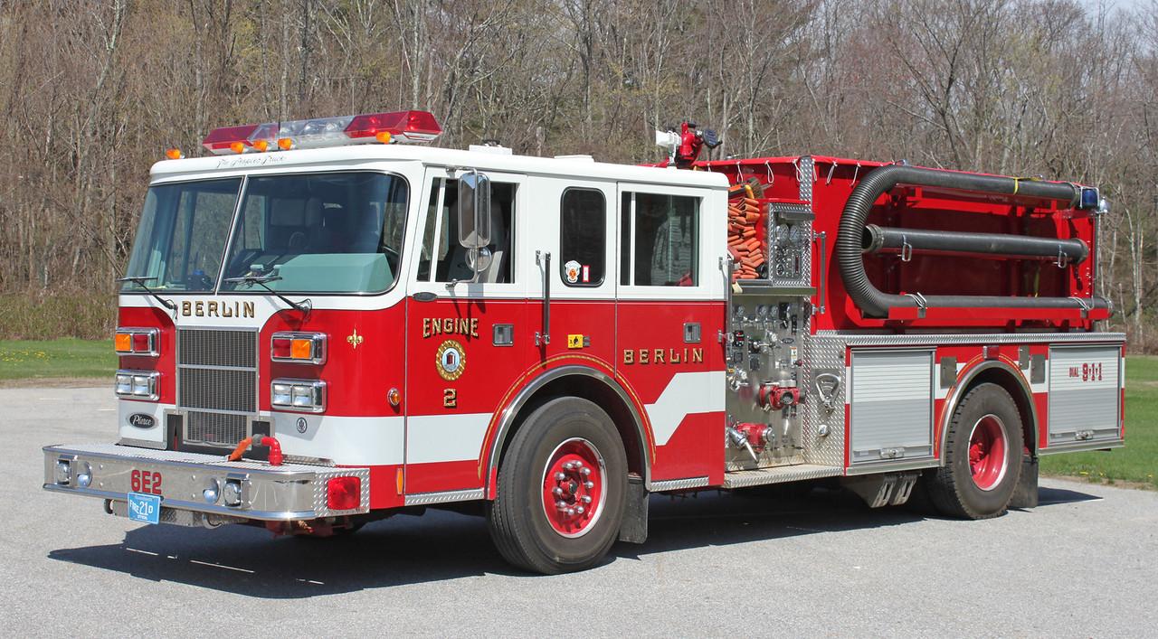 Engine 2   1996 Pierce Saber.  1500 / 750