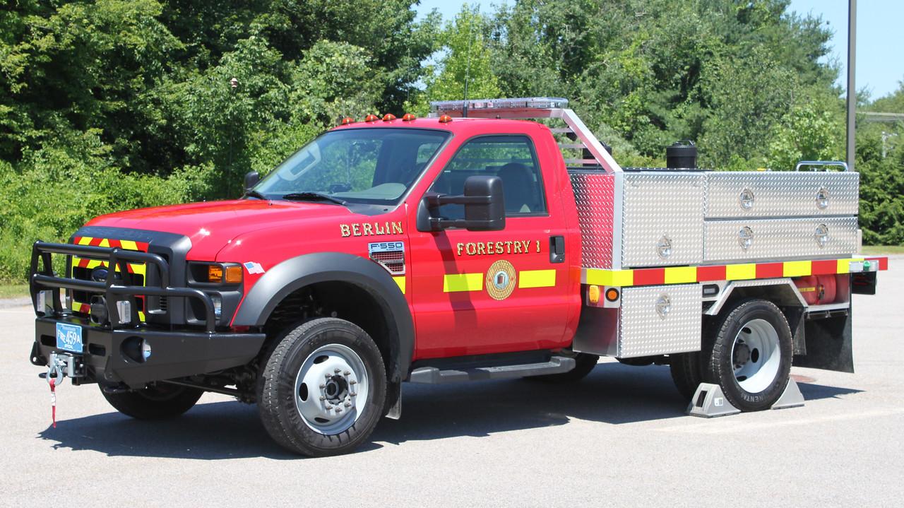 Forestry 1.  2008 Ford F-550 / Custom.  250 / 250