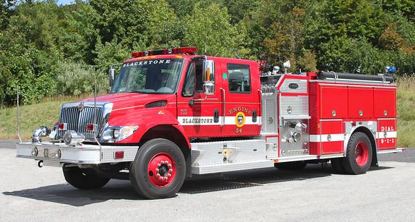 Engine 54.  2006 International / E-One   1500 / 700 / 25A / 25AFF