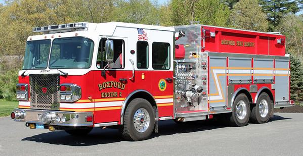 Engine 2 2013 Spartan / Rosenbauer 1500 / 2500 / 50F
