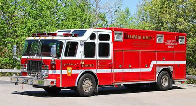 Rescue 2.  1998 E-One Heavy Rescue