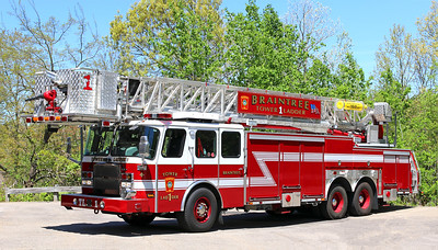 Tower Ladder 1.  2013 E-One Cyclone.  95' Tower