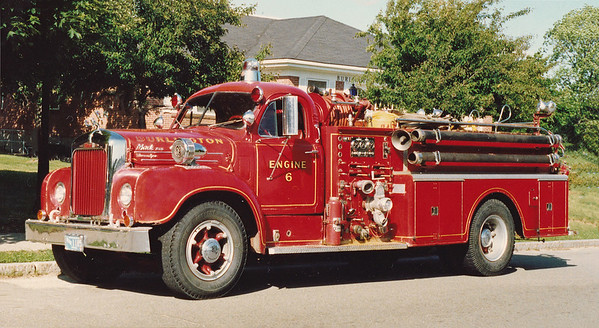Retired Engine 6.  1962 Mack B.  750 / 500