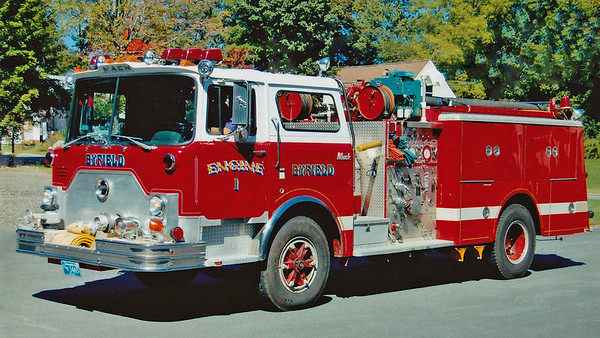Retired  Engine 1 1983 Mack CF 1250/750