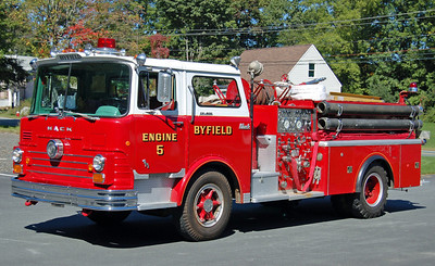 Retired  Engine 5 1969 Mack CF 1250/500