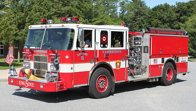Engine 8.  2007 Pierce Saber.  1250 / 500