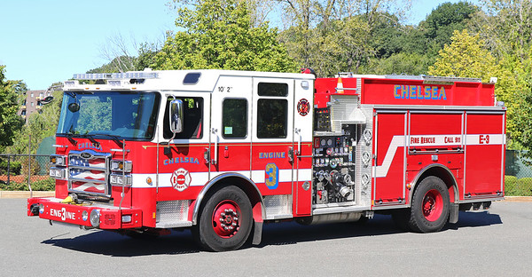 Engine 3 .  2018 Pierce Enforcer .  1500 / 750