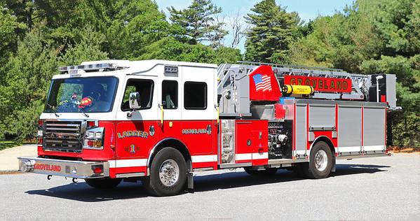 Ladder 1.  2017 Rosenbauer Commander.  2000 / 300 / 75'