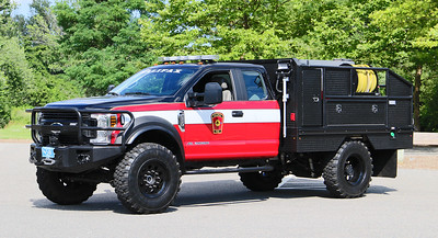 Forestry 1   2019 Ford F-550 /  Perfection Truck / Greenwood EV.  300 / 400 / 25F