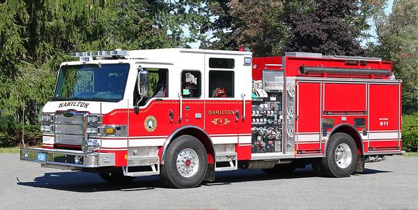 Engine 1.  2017 Pierce Impel.  1500 / 750