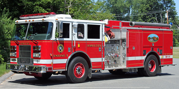 Engine 3   2003 Pierce Saber   1500/750