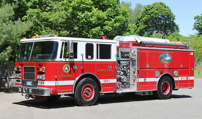 Retired.  Engine 1   1996 Pierce Saber   1250 / 750