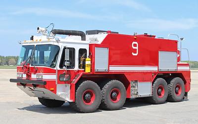 Crash 9 1994 E-One Titan 2000 / 3000 / 500F / 500 Dry Chemical