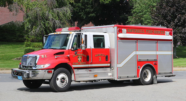Rescue 1.  2003 International / Horton