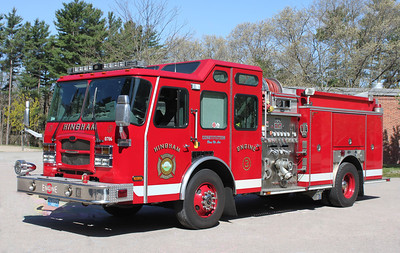 Engine 1 (Ex E-3).  2006 E-One Typhoon   1250 / 500