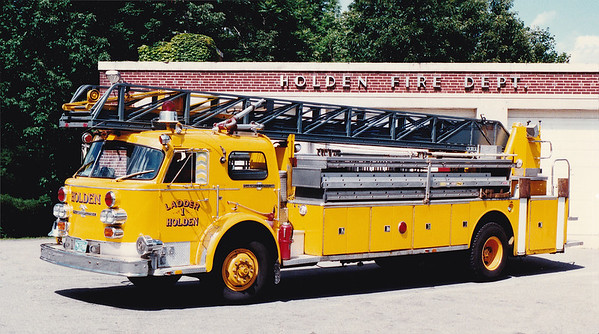 Retired Ladder 1.  1973 American LaFrance.  100' RM